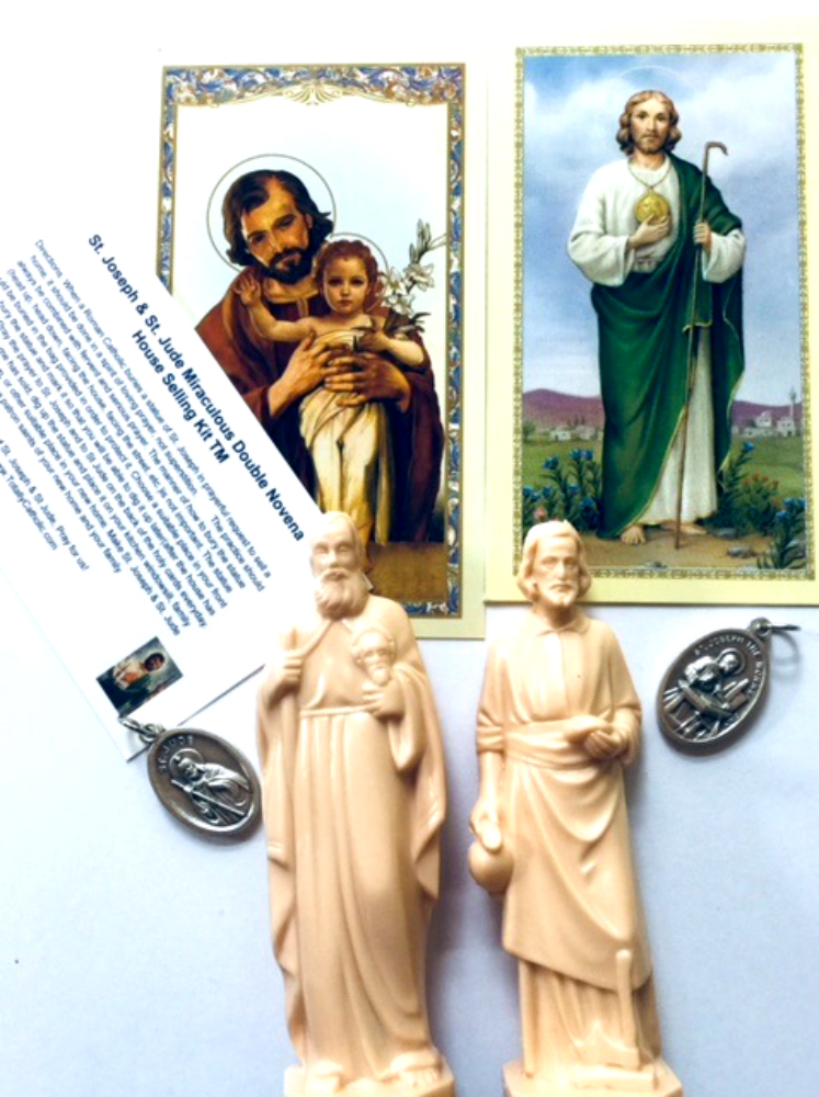Double Novena Double Statue Kit