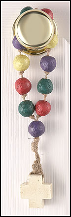 Colors of Faith Door Handle Rosary