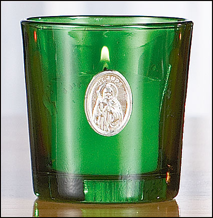St. Jude 10 Hr Devotional Candle Holder