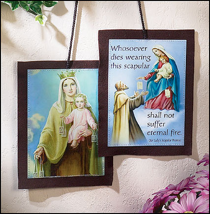 Large House or wall scapular
