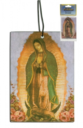 Guadalupe Air Freshener for car