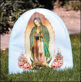 Our Lady of Guadalupe Fabric Banner