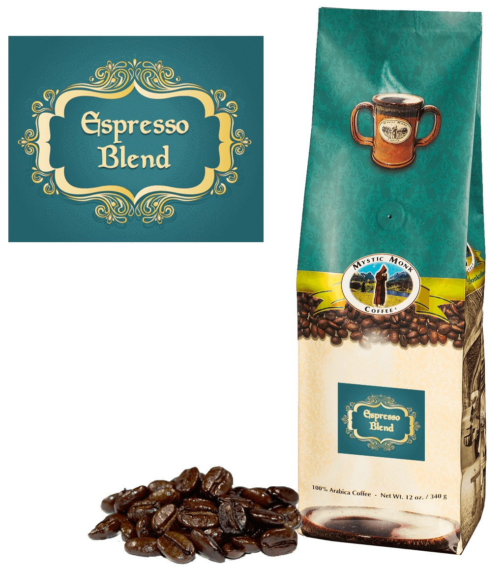 Mystic Monks Expresso Blend Whole bean coffee