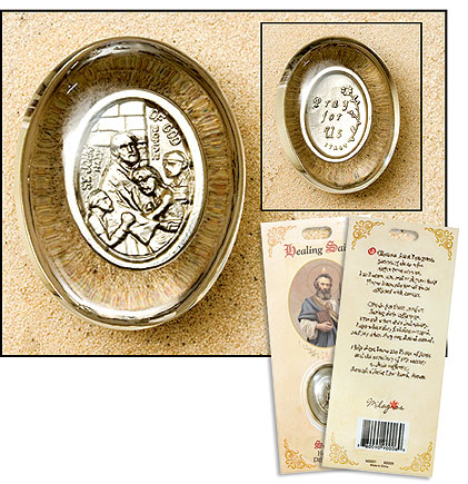 St. John of God Pocket Stone