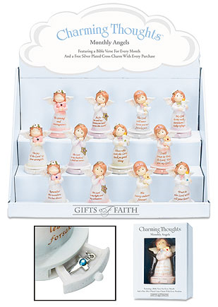 Charming Thoughts Birthstone Angels