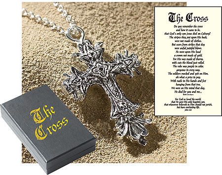 The Cross Pendant with 18