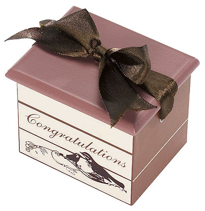 Congratulations Rosary Keepsake Box