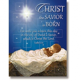 Christ the Savior is Born Advent Calendar