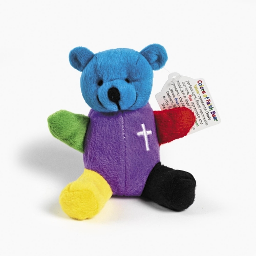 Colors of Faith Bear