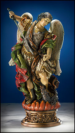 Deluxe St. Michael the Archangel statue