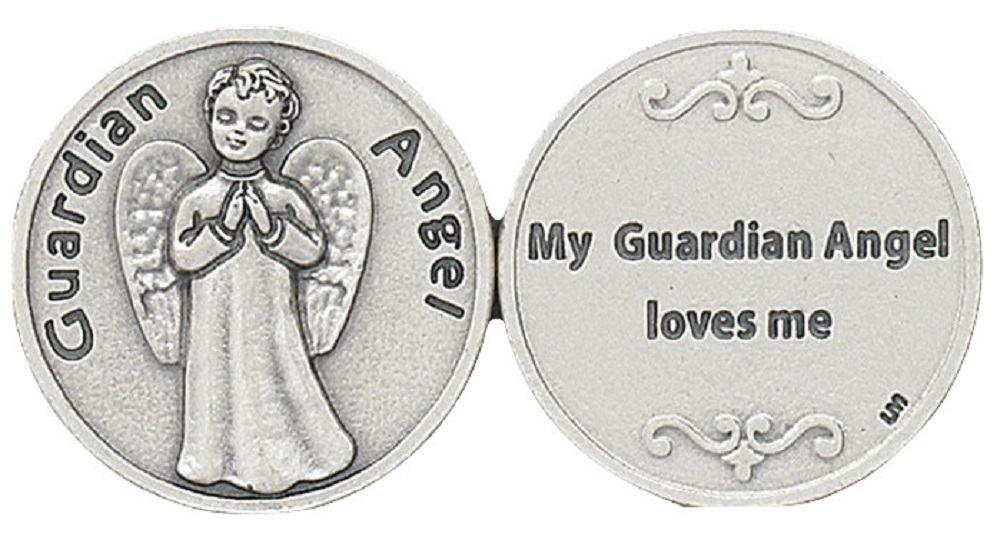 Newest Guardian Angel Pocket Coin