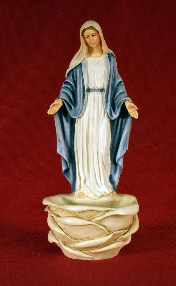 Our Lady of Grace Large Holy Water Font