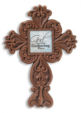 God Bless This Gathering Place Wall Cross