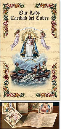 Our Lady of Caridad del Cobre Patron saint bifold