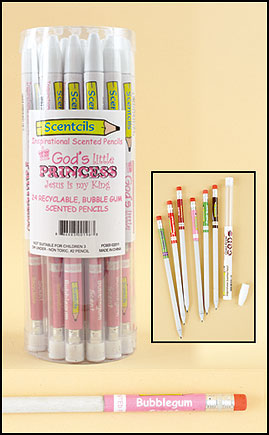 God's Little Princess Scented Pencil in case