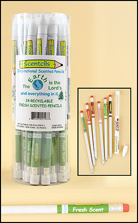 Earth is the Lord's Scented Pencil in case