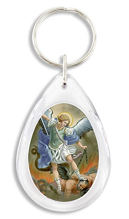 24 pack St Michael Devotional Key Chain