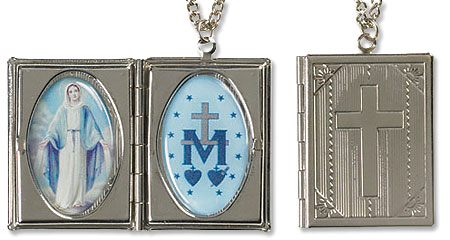 Our Lady of Grace Bible Locket