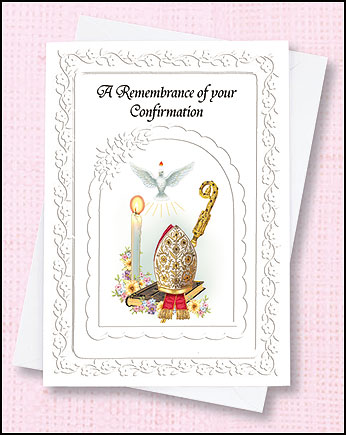 Confirmation Boy Deluxe Greeting Cards