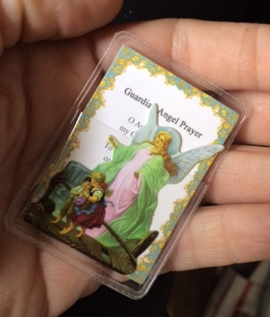Guardian Angel Pocket Saint Card