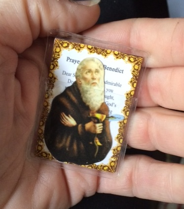 St. Benedict Pocket Saint Card