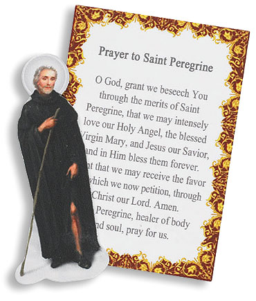 St. Peregrine Pocket Saint