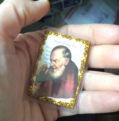 St. Padre Pio Pocket Saint Card