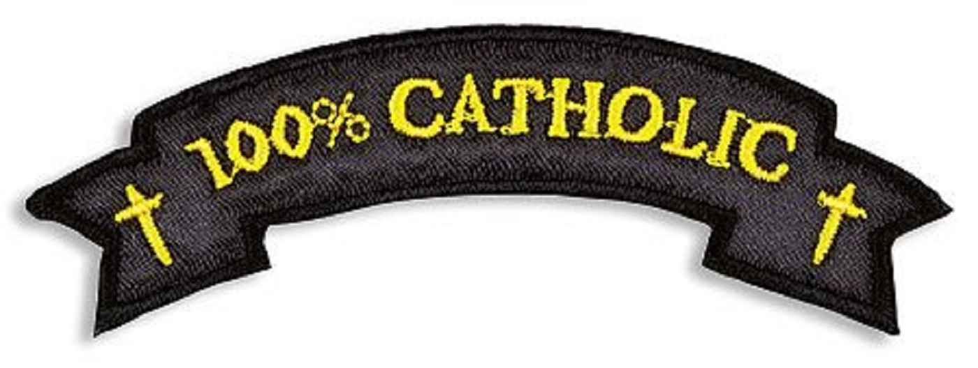 100% Catholic Applique