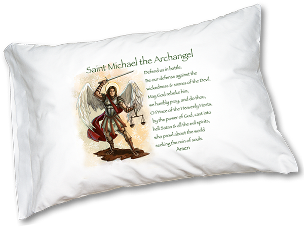 St. Michael Prayer Pillowcase