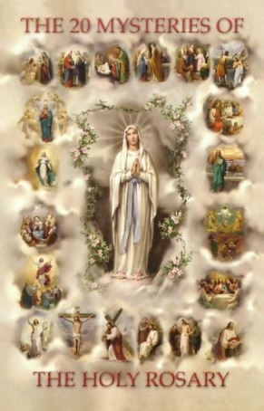Mysteries of the Rosary print