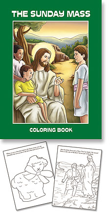 The Sunday Mass Coloring Book