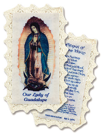 Lacy Holy cards