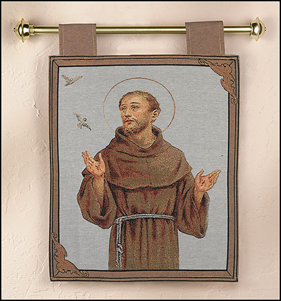 St. Francis Wall Tapestry
