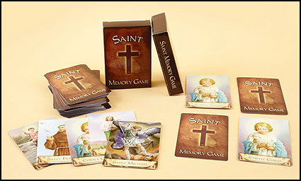 Saints Card Memory Game