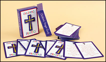 Children's Prayer Card Assortment Packs