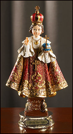 Deluxe Detailed Infant of Prague Statue