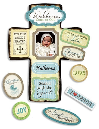 Baptism Magnetic Cross Kit