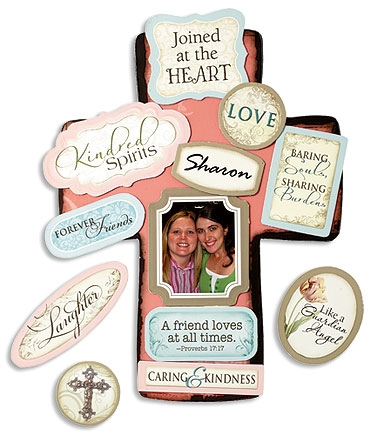Friendship Magnetic Wall Cross
