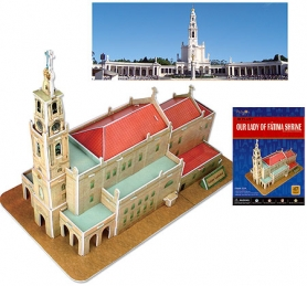 Our Lady of Fatima Shrine 3D Puzzle