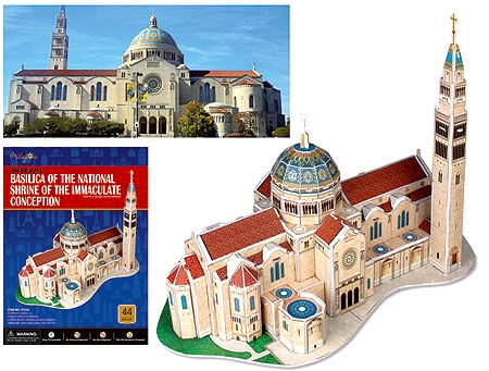 Immaculate Conception Cathedral 3D Puzzle
