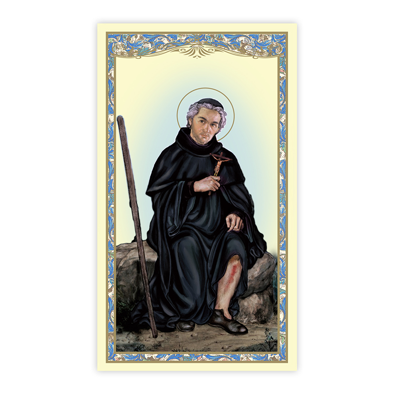 Paper Holy Card, St. Peregrine (Cancer)