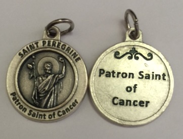 St. Peregrine Round Healing Patron Saint of Cancer