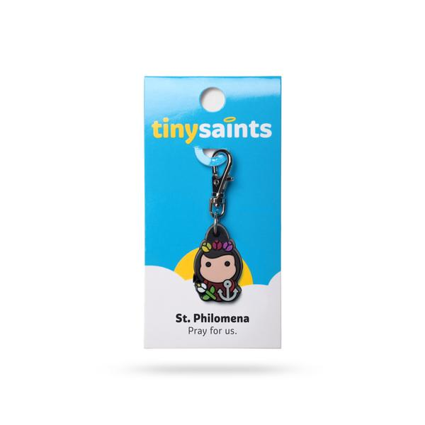St. Philomena Tiny Saints Charm