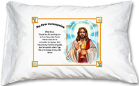 First Communion Prayer Pillowcase