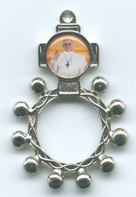 Pope Francis Rosary Ring