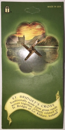 St. Brigid Cross Pin