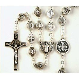St. Benedicts medals Rosary