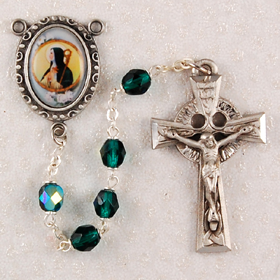 St. Brigid Personalized Engraved Rosary