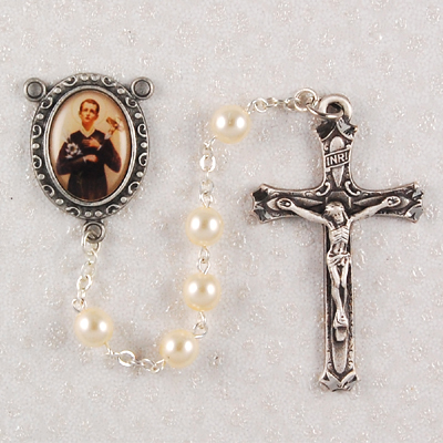 St. Gerard Personalized Engraved Rosary