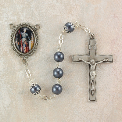 St. Joan of Arc Personalized Engraved Rosary